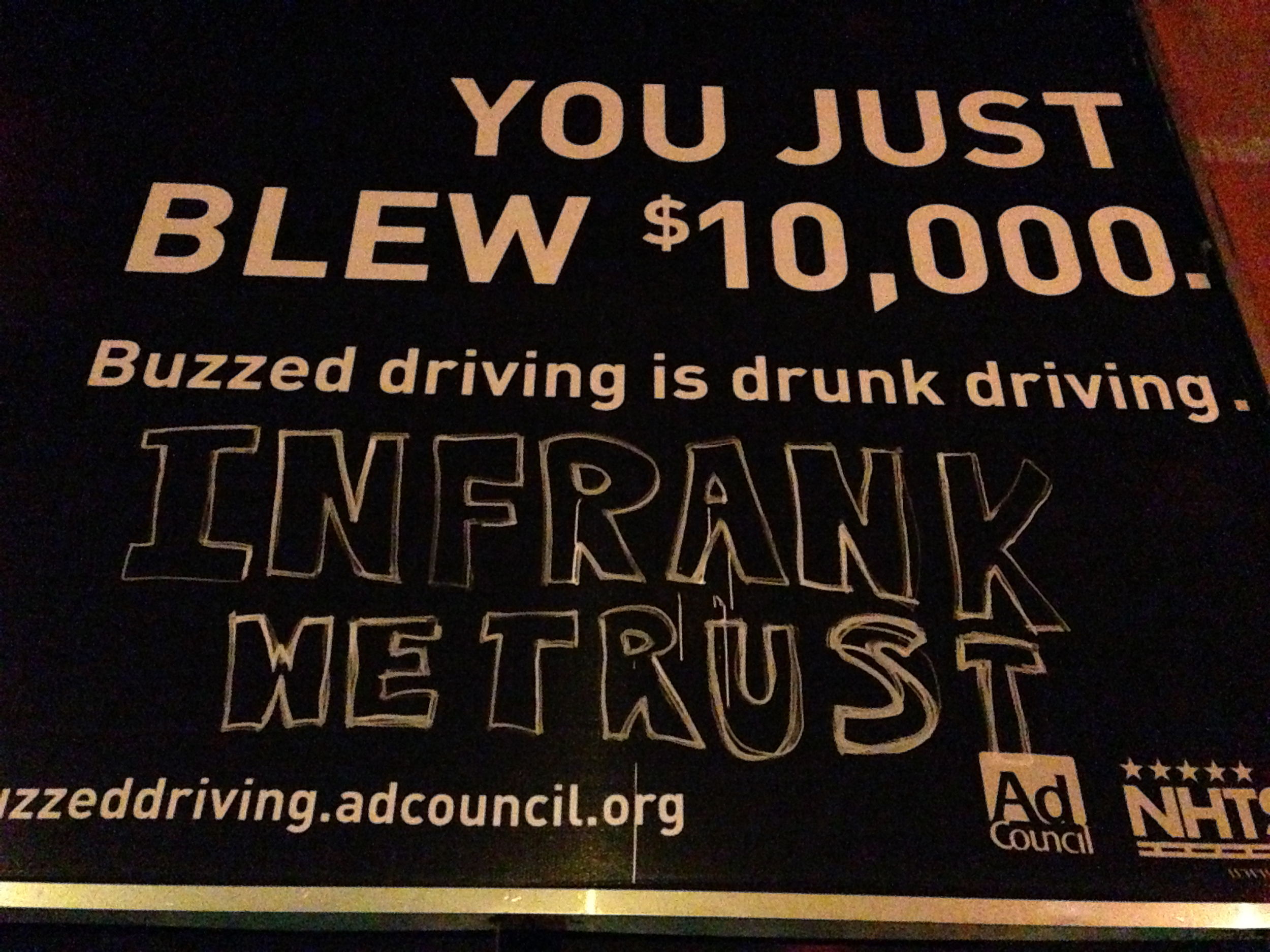 you just blew 10,000 in frank we trust billboard close up.jpg