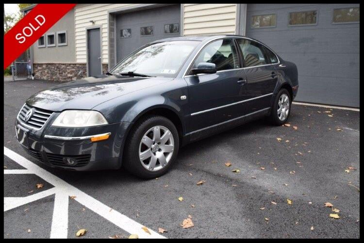 SOLD - 2001 VW Passat GLX V6 4MotionBlue Anthracite Pearl on BlackVIN: WVWTH63B11E158549