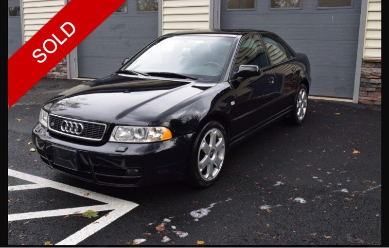 SOLD - 2001 Audi S4Brilliant Black on OnyxVIN: WAURD68D41A046560