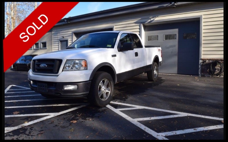 SOLD - 2004 Ford F150 FX4 4x4Oxford White on BlackVIN: 1FTPX14574NC73581