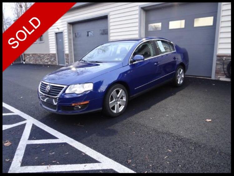 SOLD - 2009 VW Passat 2.0tCobalt Blue on BlackVIN: WVWJK73C59P018740