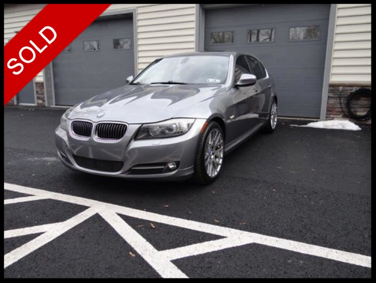 SOLD - 2009 BMW 335i xDriveSpace Gray on GrayVIN: WBAPL33599A407026