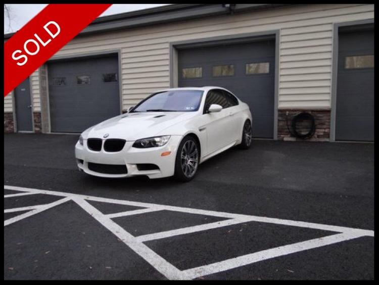 SOLD - 2008 BMW M3Alpine White on Fox RedVIN: WBSWD93508PY41032