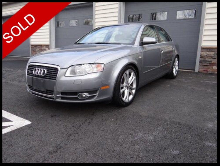 SOLD - 2006 Audi A4Light Silver Metallic on GreyVIN: WAUKF7E57A039989