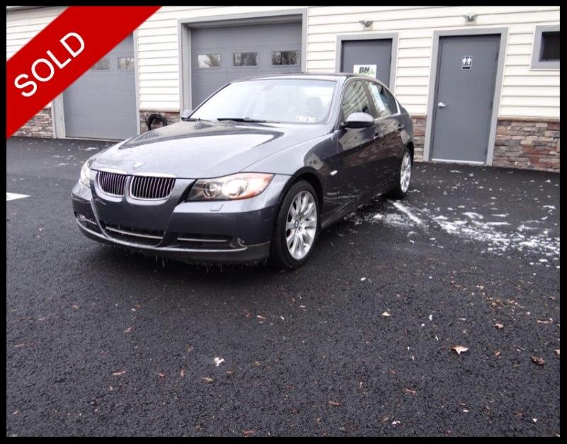 SOLD - 2007 BMW 335iSparkling Graphite on GrayVIN: WBAVB73547PA88620