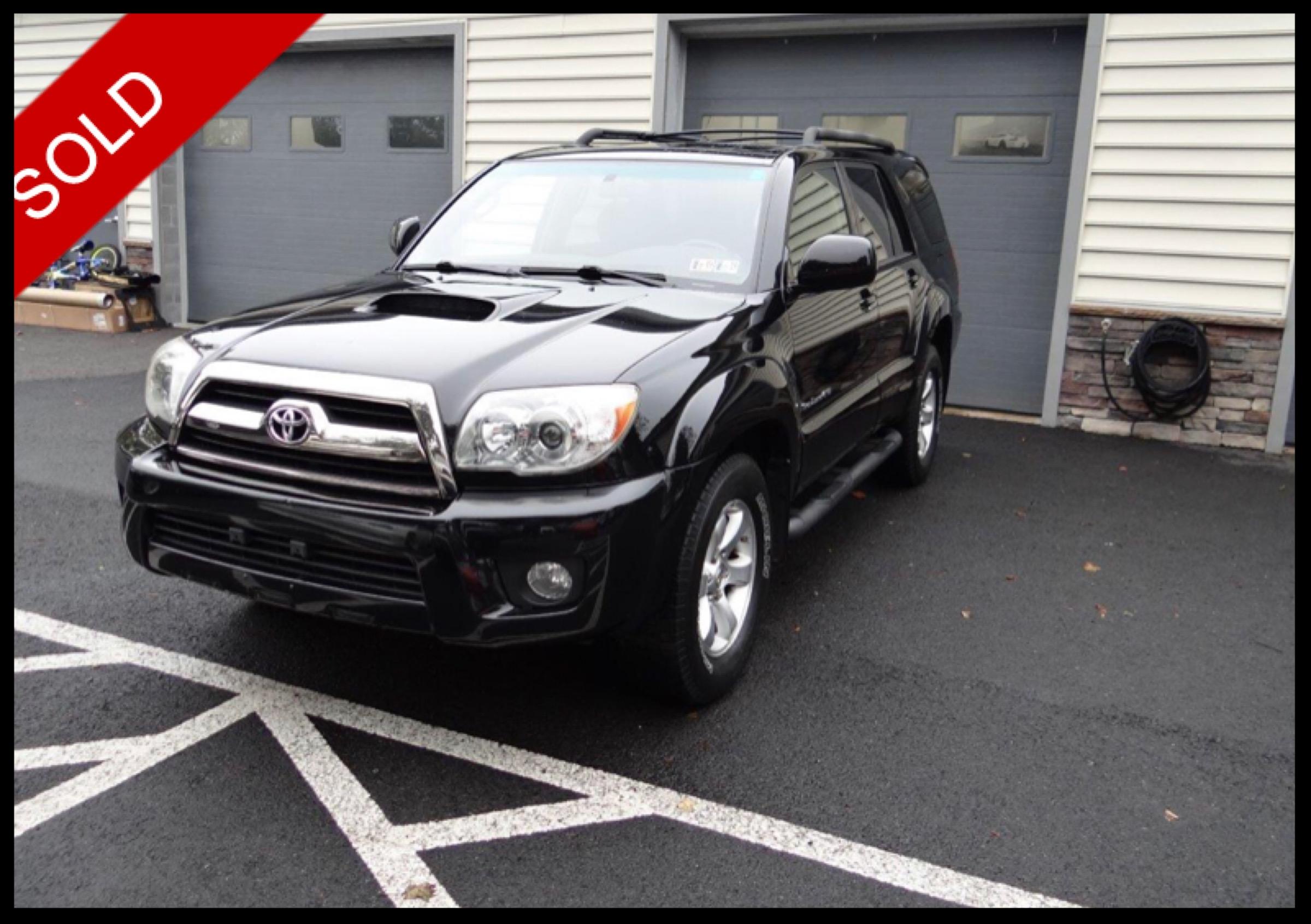 SOLD - 2007 Toyota 4Runner SportBlack on BlackVIN: JTEBU14R478083175