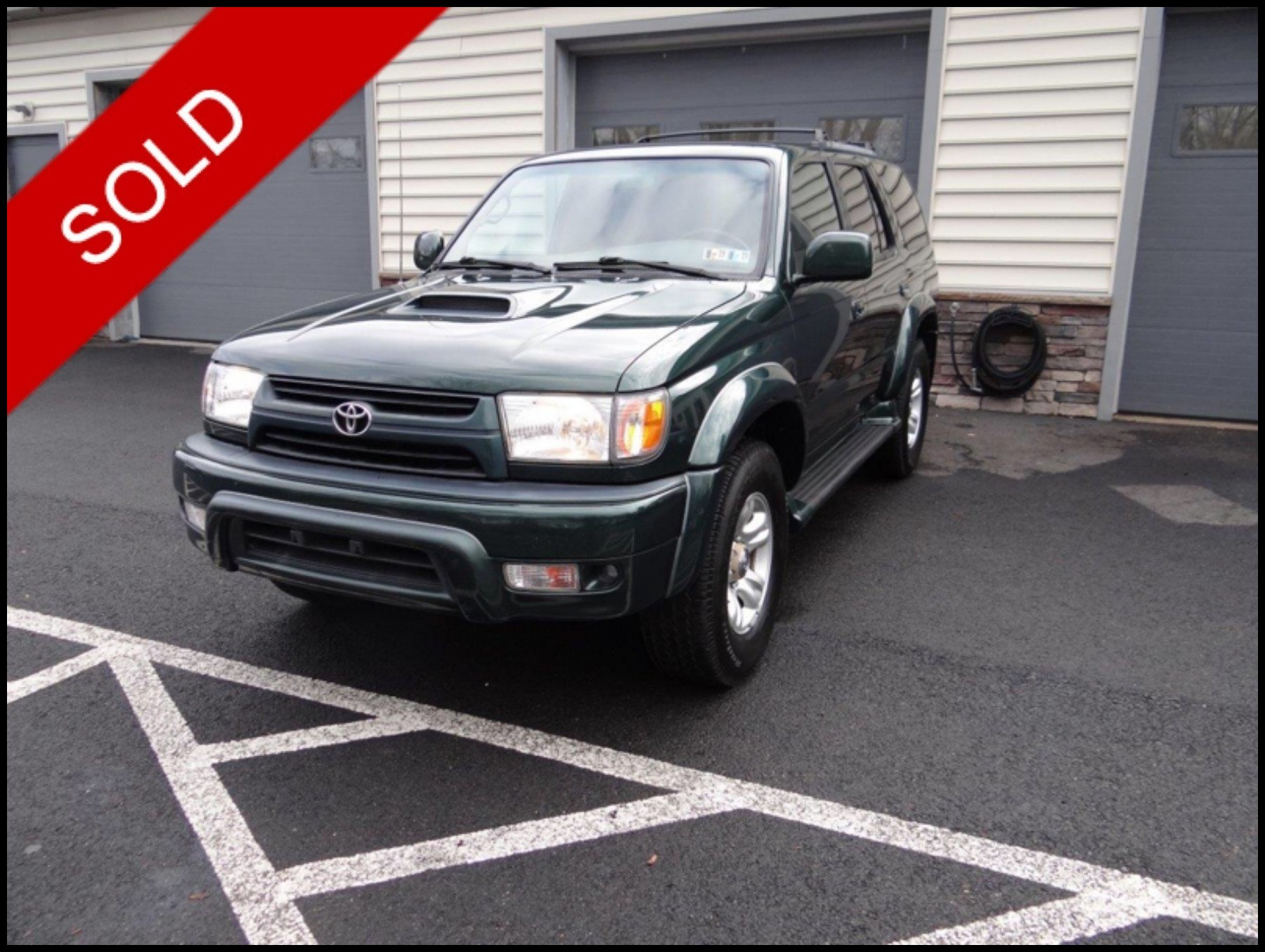 SOLD - Make: ToyotaModel: 4RunnerMileage: 130,677 miExterior Color: Imperial Jade Mica   Interior Color: TanTransmission: AutoEngine: 3.6 LDrivetrain: 4x4VIN: JT3HN86R510330229