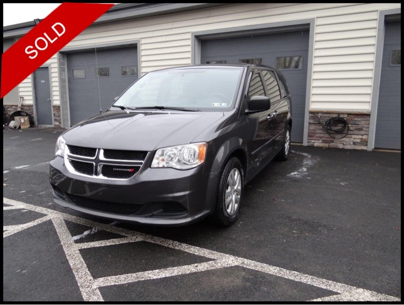 SOLD - Make: DodgeModel: Grand Caravan SEMileage: 46,071 miExterior Color: Granite CrystalInterior Color: BlackTransmission: AutoEngine: 3.6 LDrivetrain: FWDVIN: 2C4RDGBG1FR731825