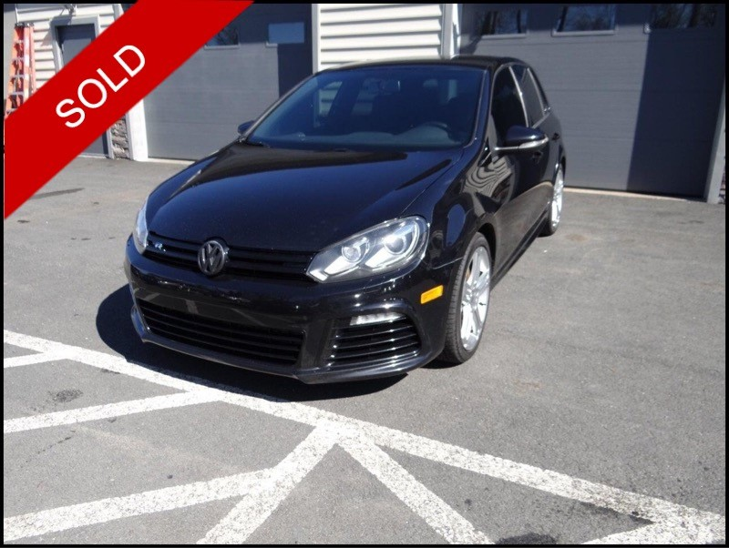SOLD - Make: VWModel: Golf RMileage: 119,698 miExterior Color: Deep Black MetallicInterior Color: BlackTransmission: 6-SpeedEngine: 2.0LDrivetrain: AWDVIN: WVWPF7AJ4DW055440