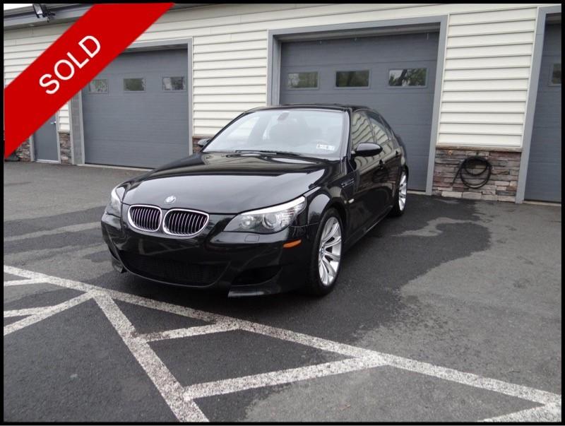 SOLD - 2008 BMW M5Black Sapphire Metallic on BlackVIN: WBSNB93528CX09124