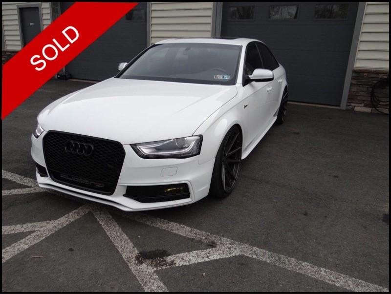 SOLD - 2013 Audi S4Ibis White on Black/Magma RedVIN: WAUDGAFL8DA142629