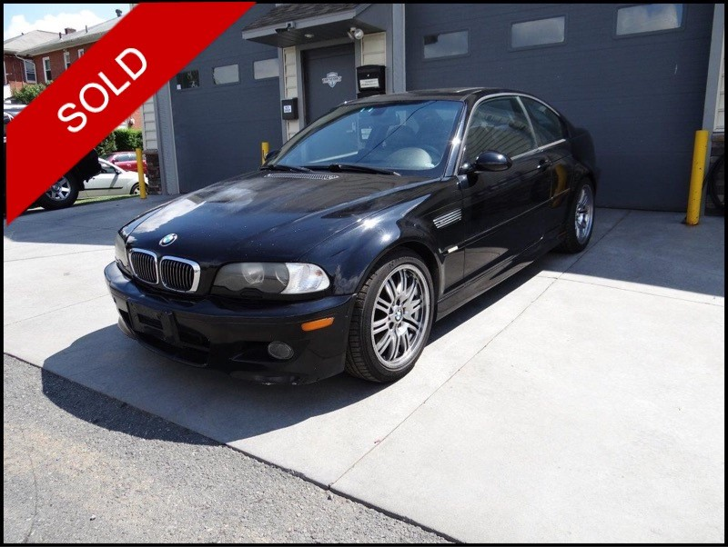 SOLD - 2004 BMW M3Black on BlackVIN: WBSBL93404PN55197