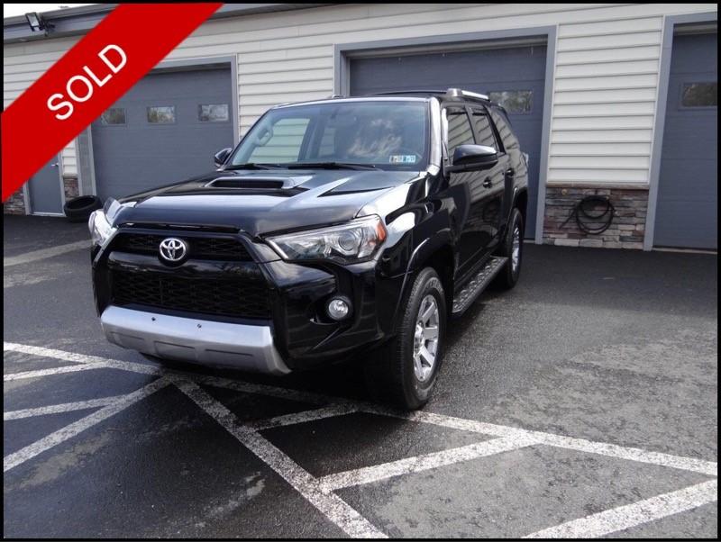SOLD - 2014 Toyota 4Runner Trail EditionBlack on BlackVIN: JTEBU5JR8E5172077