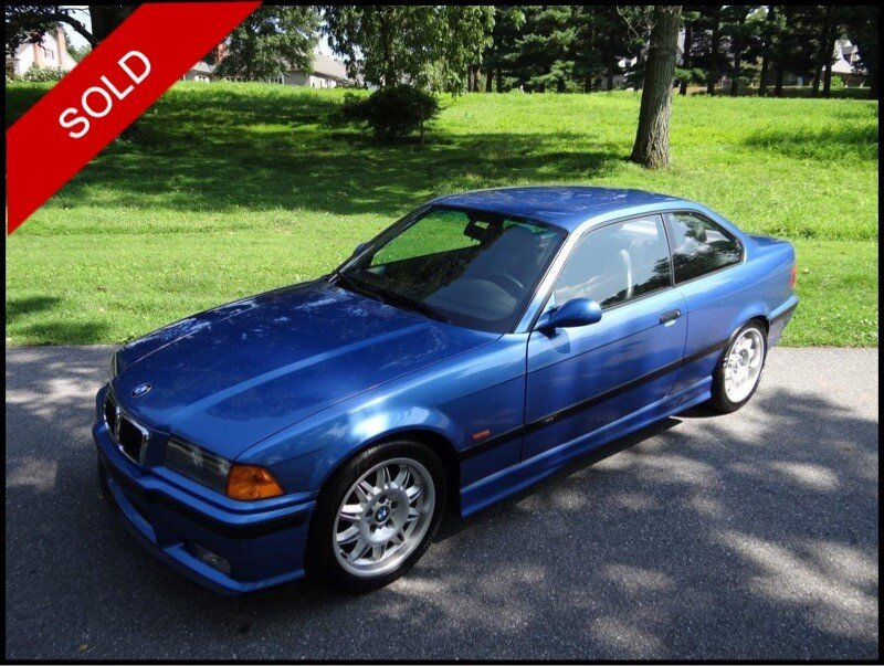 SOLD - Make: BMWModel: M3Mileage: 143,730 miExterior Color: Estoril BlueInterior Color: BlackTransmission: 5-SpeedEngine: 3.2LDrivetrain: RWDVIN: WBSBG9335XEY83341