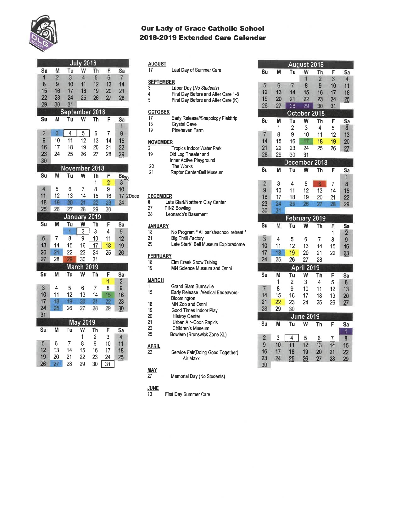 Edina School Calendar 2021 Images