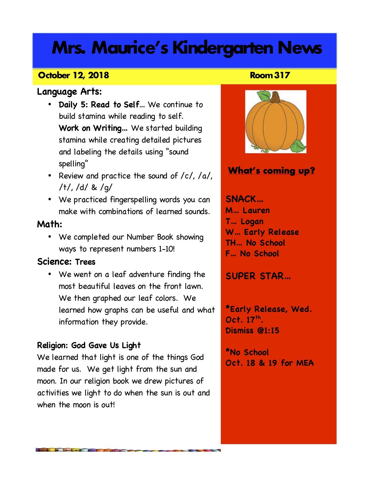 Kindergarten News Oct. 12.jpg