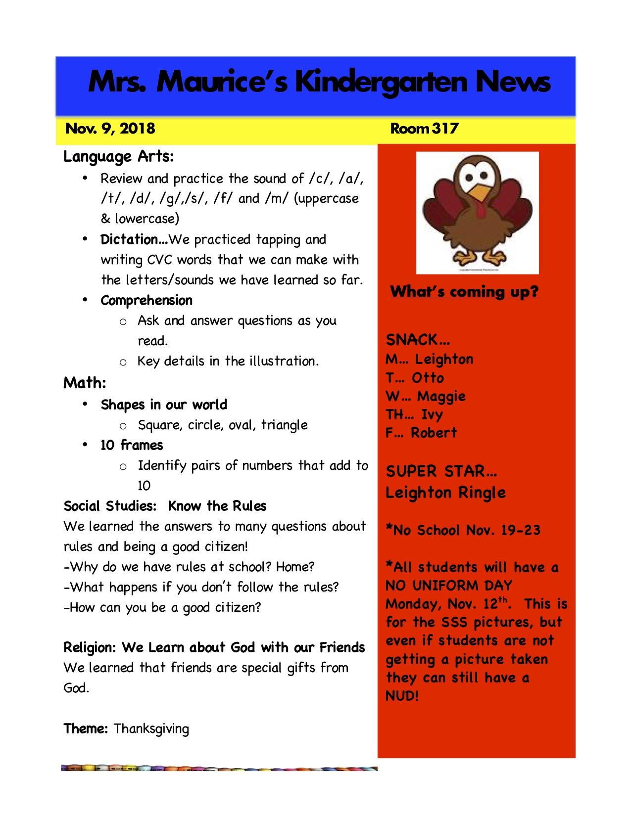 Kindergarten News Nov. 9.jpg