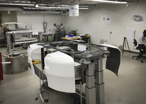 Beginning stages of a build for the Diagnostic Breast CT