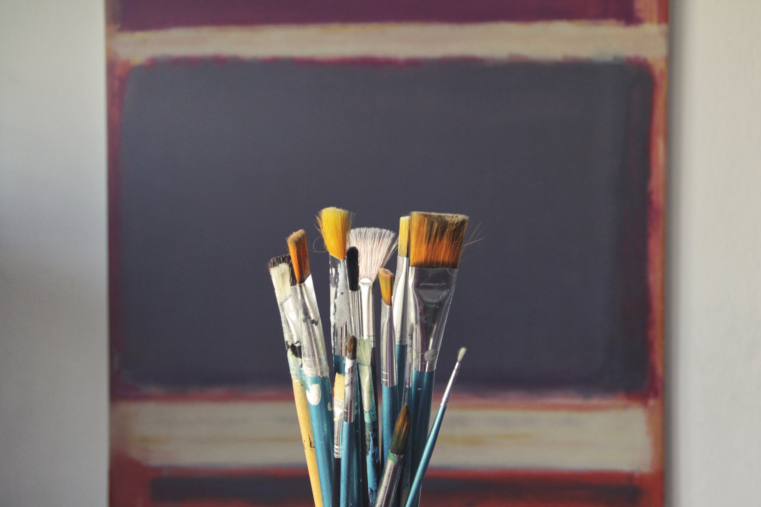Luscious Brush Paintings