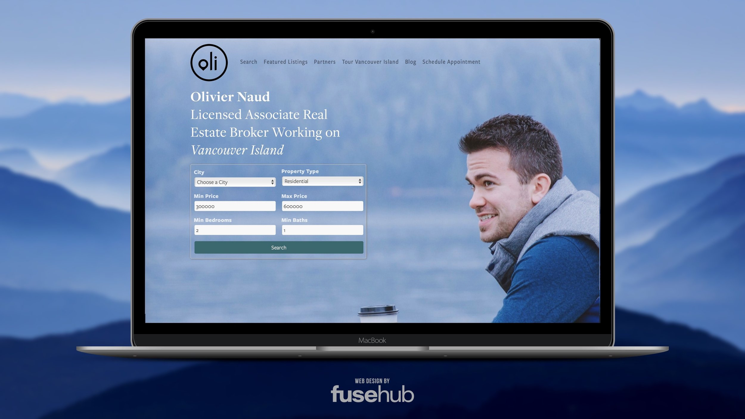 FuseHub Website Project Sproat Lake Landing
