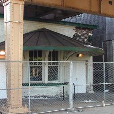 Historic Garfield Green Line CTA station