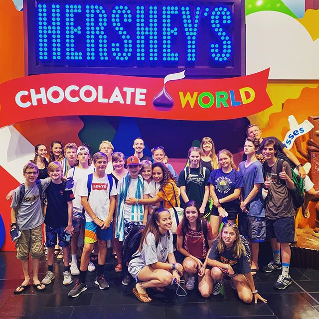 Summer is sweet and so was our time at Hershey Park! If you don't want to miss out on our future summer events, check out our summer calendar. You can pick one up this Wednesday night at the warehouse or view it online by clicking the link in our bio!