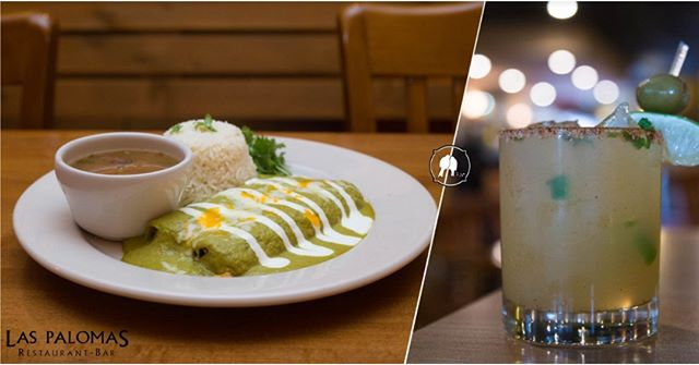 This month we are featuring our Poblano Enchiladas and El Mejor margarita. Join us for happy hour every Tuesday-Friday from 5-6:30pm!  Click the link in our bio for more information! . #newsletter #specialoffers #coupons #monthlyspecial #weeklyspecial #laspalomasrestaurant #laspalomasatx #austintexas #atxfoodie #keepaustineatin #atxmexicanfood #authenticmexicanfood #traditional #cateringatx #austintacos #mimosas #brunch #margs #margaritas #tequila #queso #margaritatime #goodeats #happyhour #happyhouraustin #quesoatx #westlake #vegetarian #veggie #vegetarianaustin