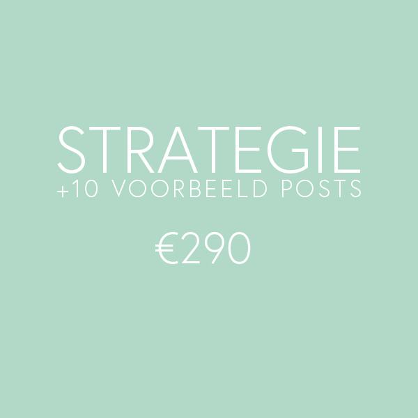 Social media tarieven - Strategie & 10 voorbeeld posts