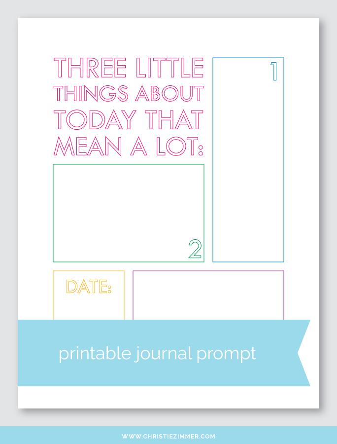 little things printable - Free!