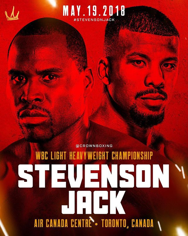Who are you picking? This Saturday @adonissuperman takes on @badoujack for the WBC Light Heavyweight Championship. 🎥 @showtimeboxing #StevensonJack 🔥🏆🔥🏆🔥