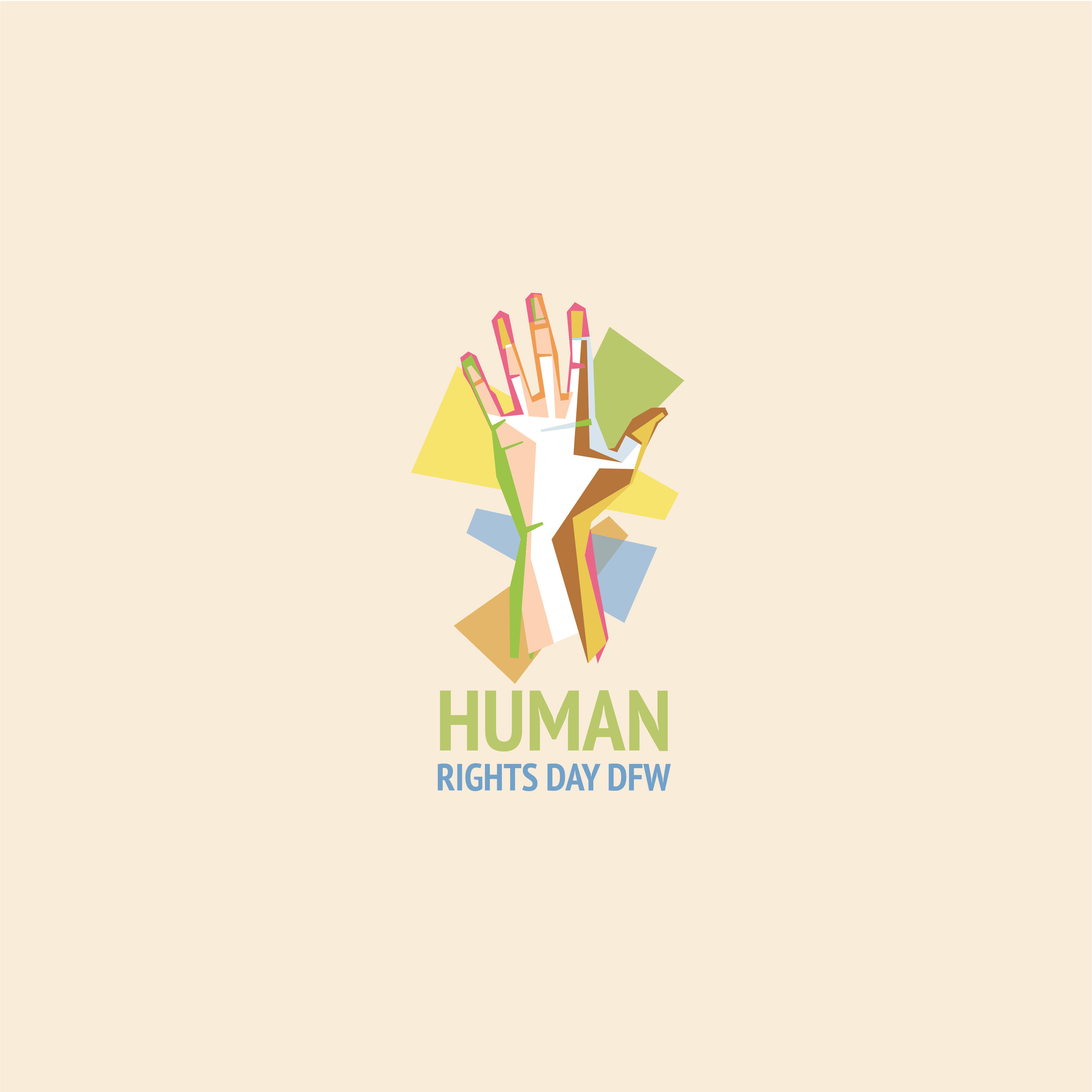 Human Rights Day DFW  Branding and website can be found  here