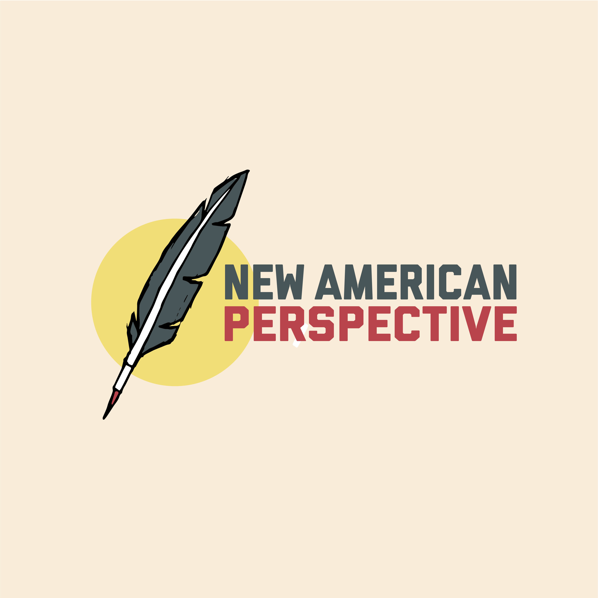 New American Perspective  Branding and website can be found  here