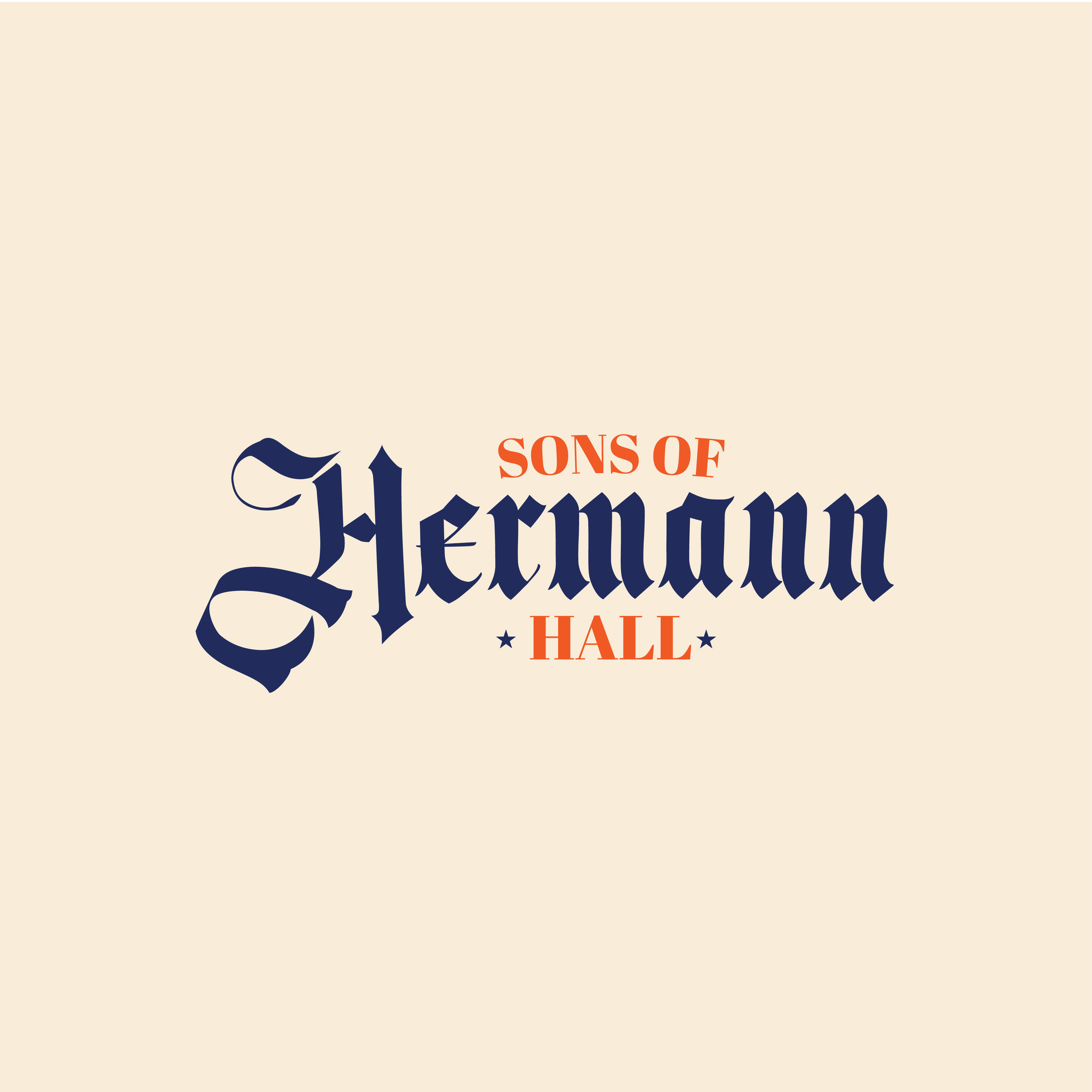 The Sons of Hermann Hall Bar  Branding and website can be found  here