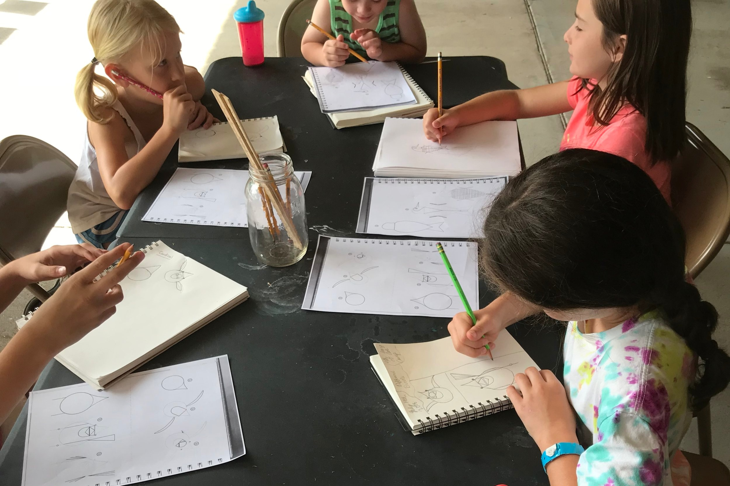 Fine Art Lessons for Young Artists - Ages 5-13 (K-8)