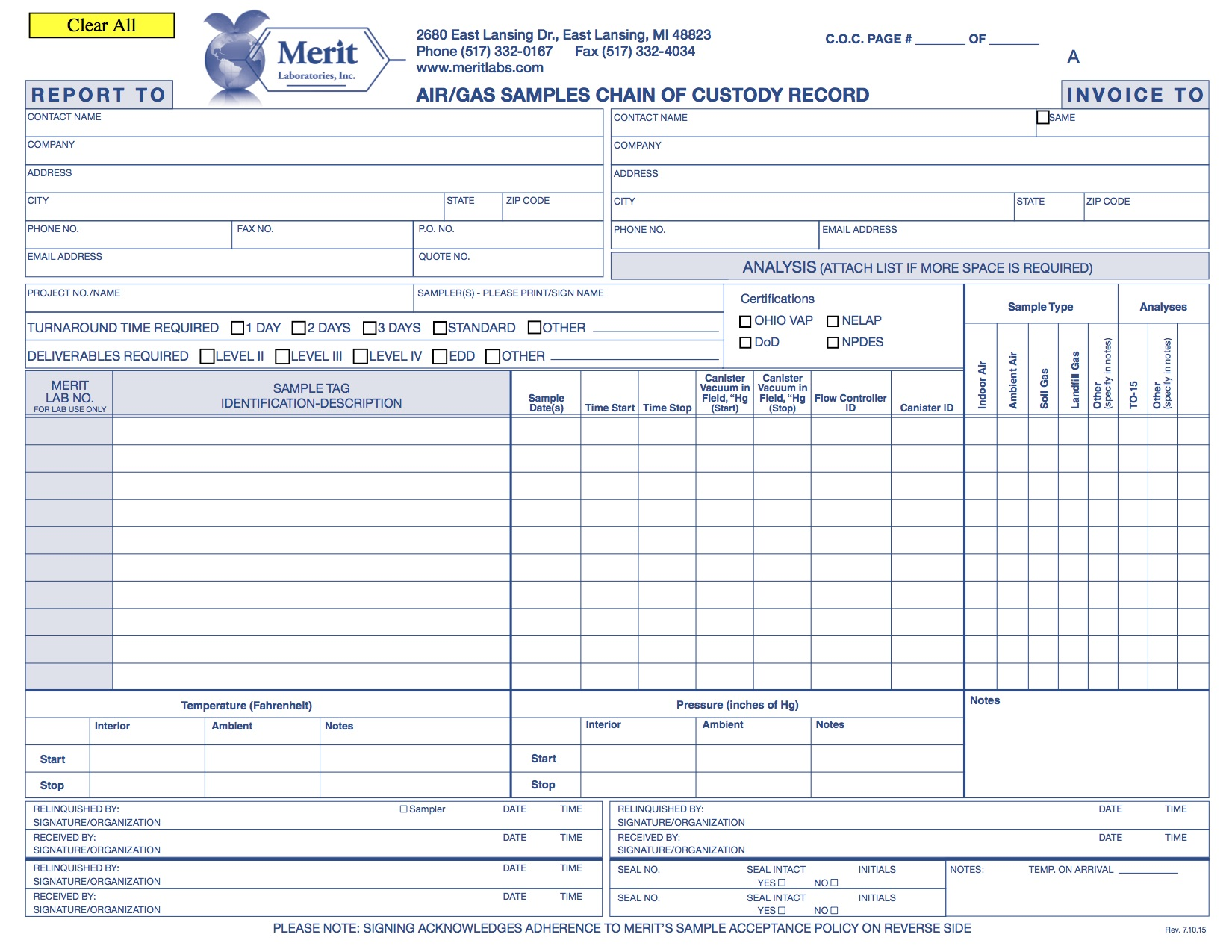 You can download a copy of the Merit COC form for Air samples by clicking the button below.