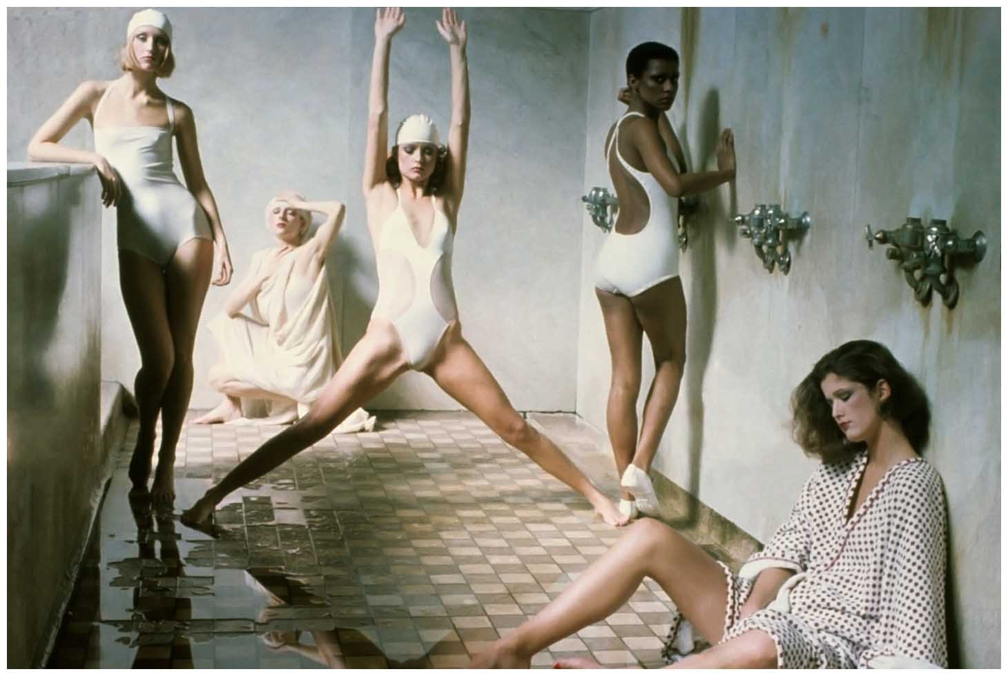 BATHOUSE SERIES BY DEBORAH TURBEVILLE FOR VOGUE MAY 1975