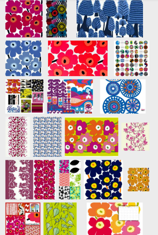 Mood Board - for color schemes