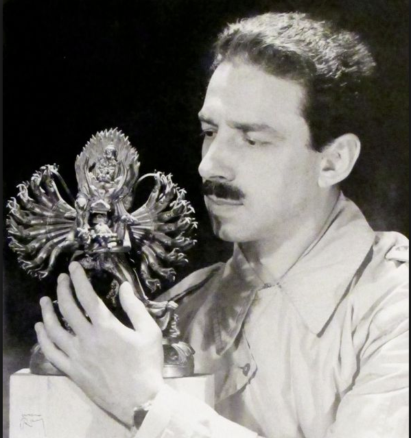 Portrait of George Hodel by Man Ray