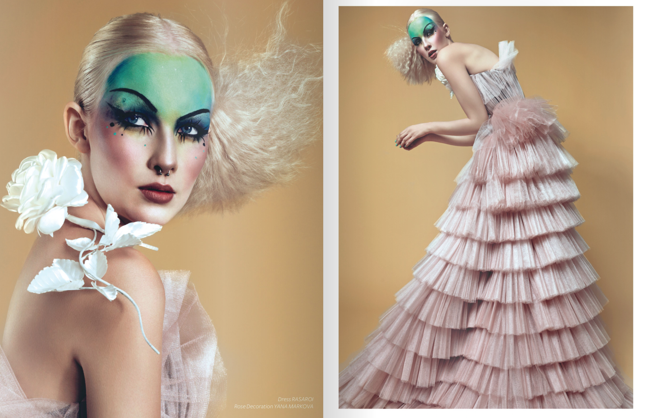 """Breed Magazine Vol. 3 """"The Sculptures of Apotheosis"""" Photography by Daria Belakova"""