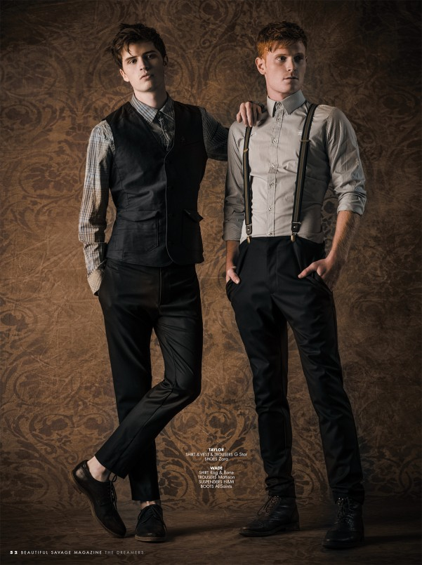 The Dreamers for Beautiful Savage Magazine by Melissa Rodwell