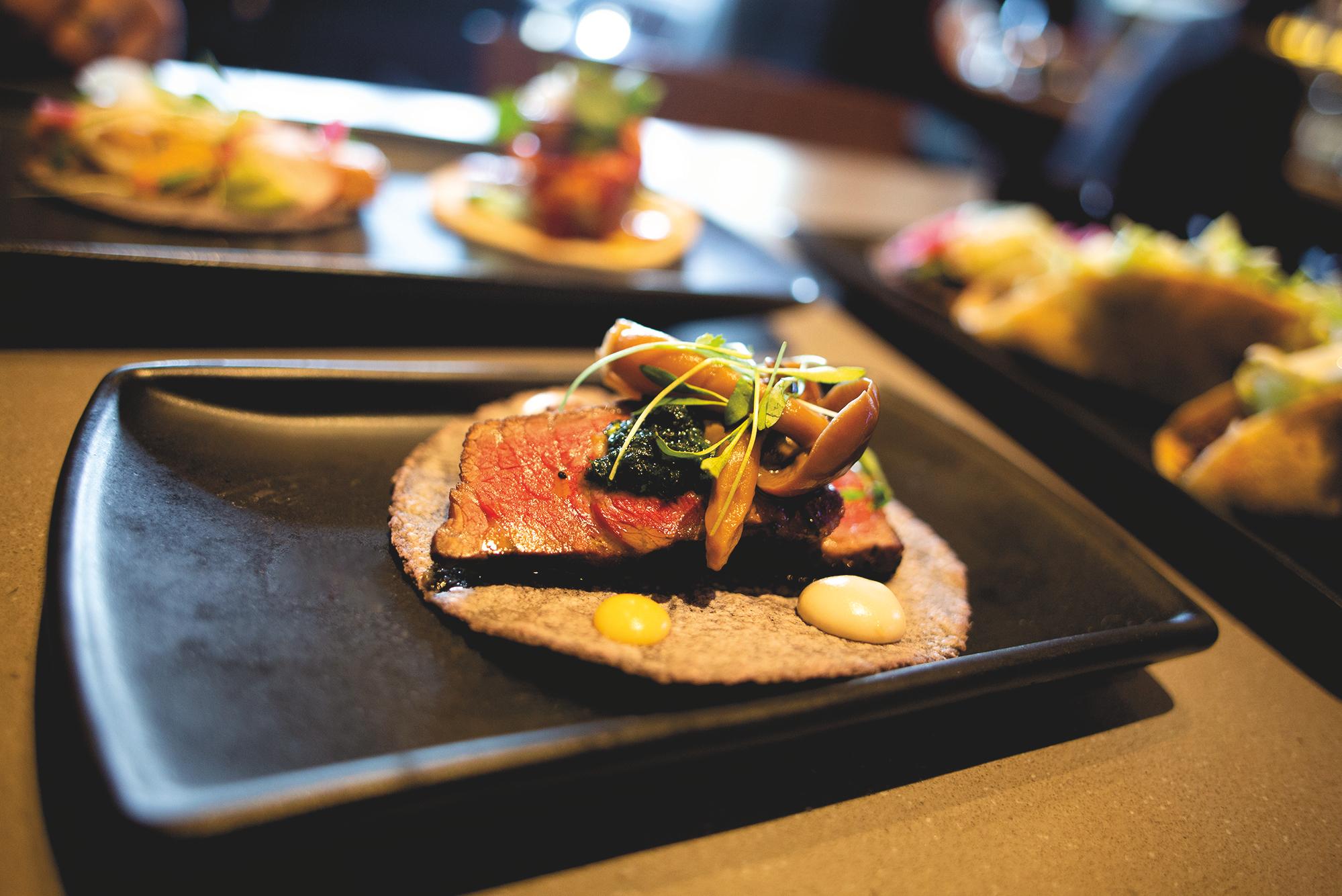 Wagyu Cap Steak Taco