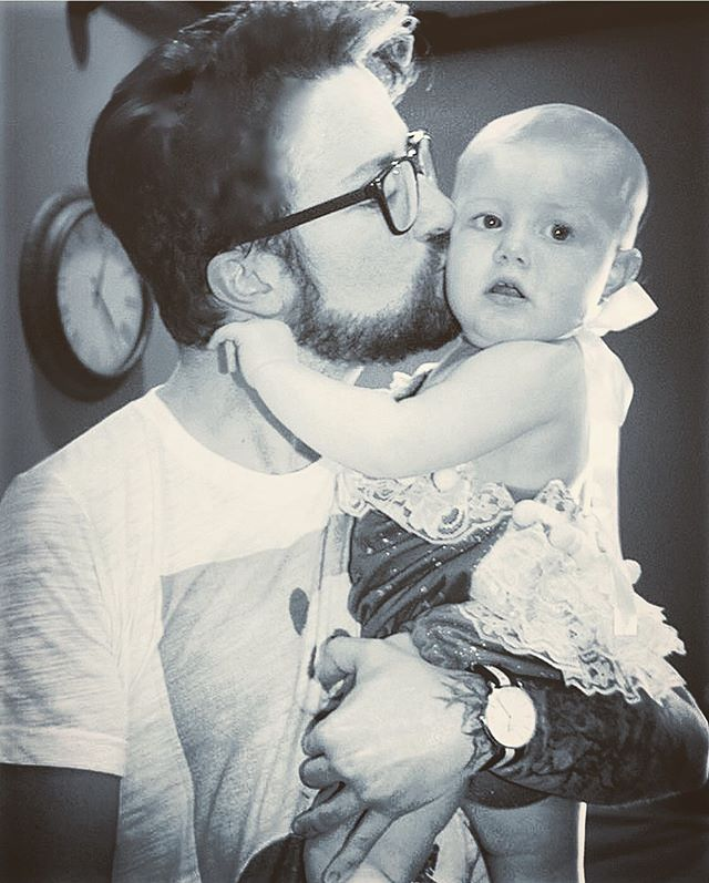 Happy Birthday to our sweet princess. We love you more than cake 💁🏽‍♂️💁🏼‍♂️✨🎂 💛💖 L O V E 💖💛 Uncle Erik and Uncle  Sam