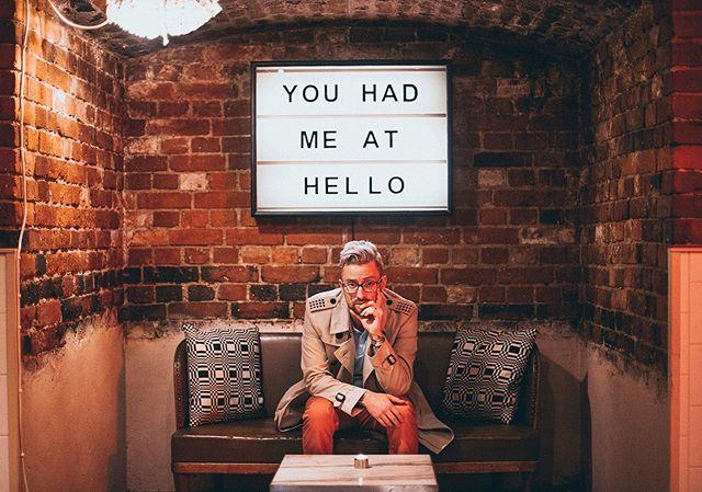 Hello from the dungeon @thecockhelsinki 💁🏼♂️✨ #tbt #myhelsinki #myhelsinkiresidence