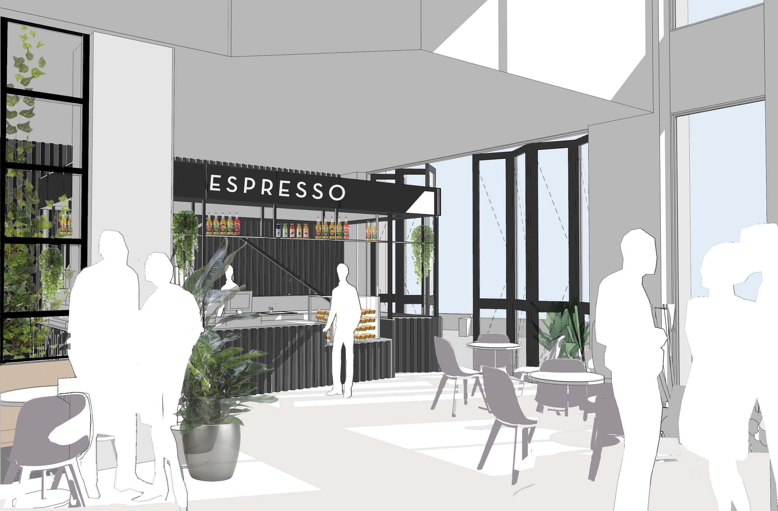 - We've been working on a range of great projects this year from a new café, to a number of alteration projects, to concept work for a lobby refurbishment. Looking forward to seeing these projects take shape on site!