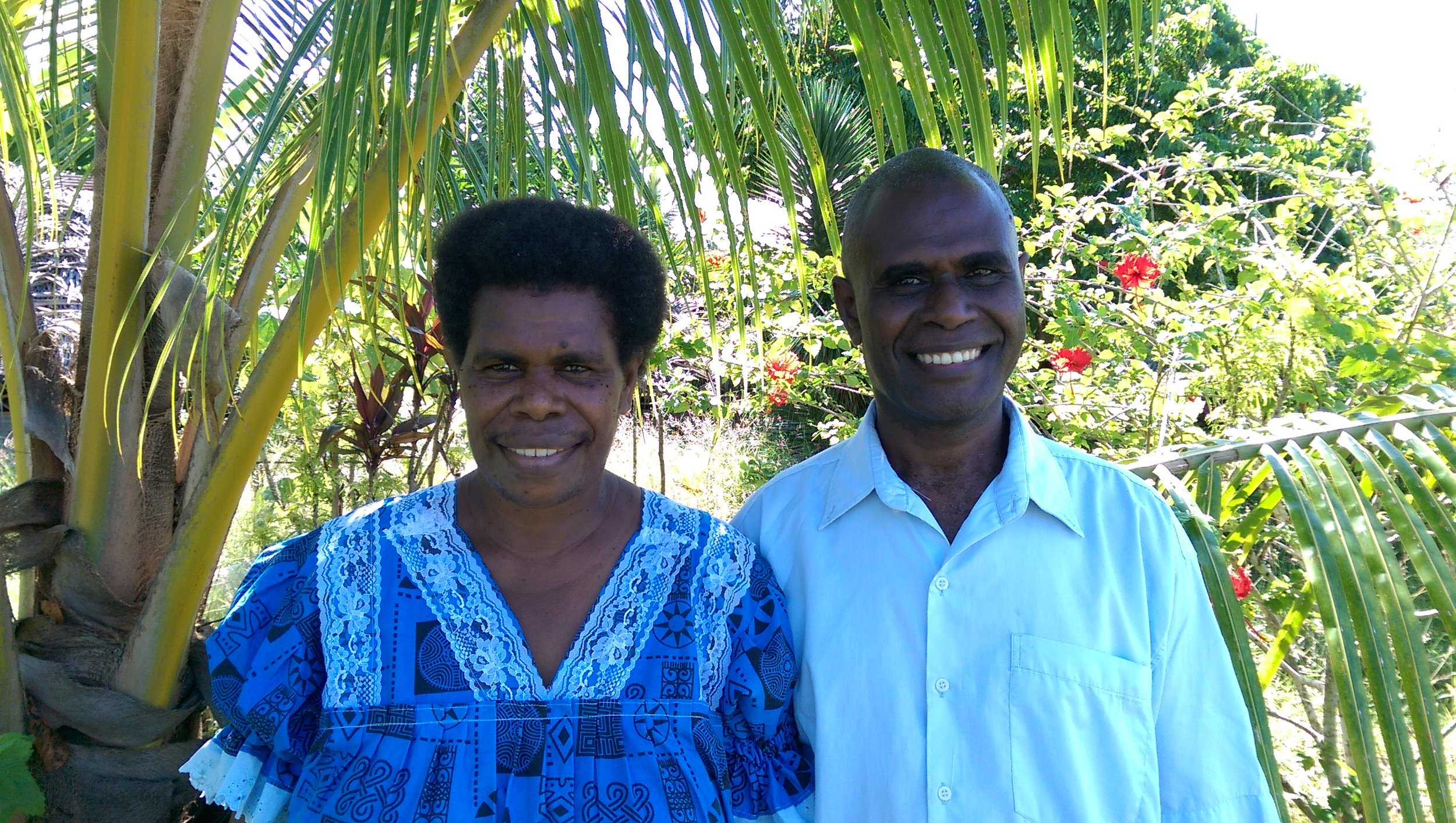 SHEM TAMARA - Shem Tamara is the Academic Dean and Lecturer in New Testament at Talua Theological Training Institure on the south coast of Espiritu Santo. He is an ordained minister in the Presbyterian Church of Vanuatu and from Nguna Island, north Efate.