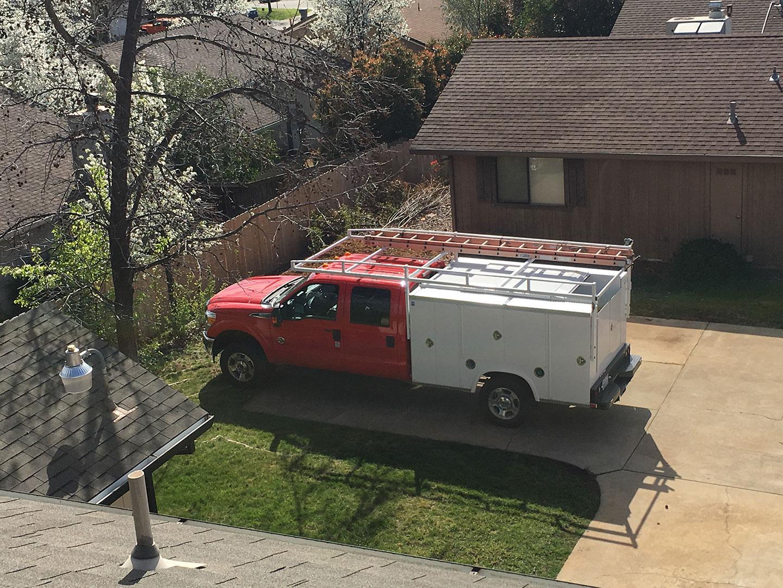 Modern Comfort Solutions Company Truck