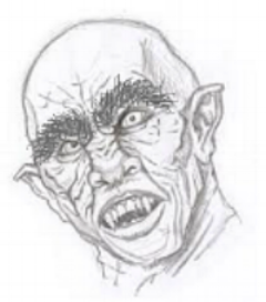 An artist's impression of the Dark Lord