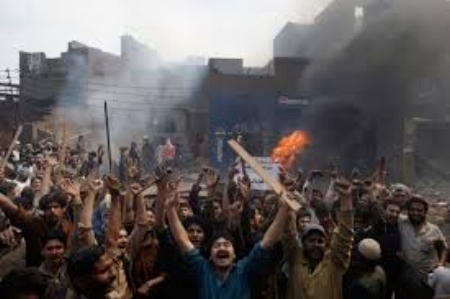 News of events in Illinois reaches Islamabad