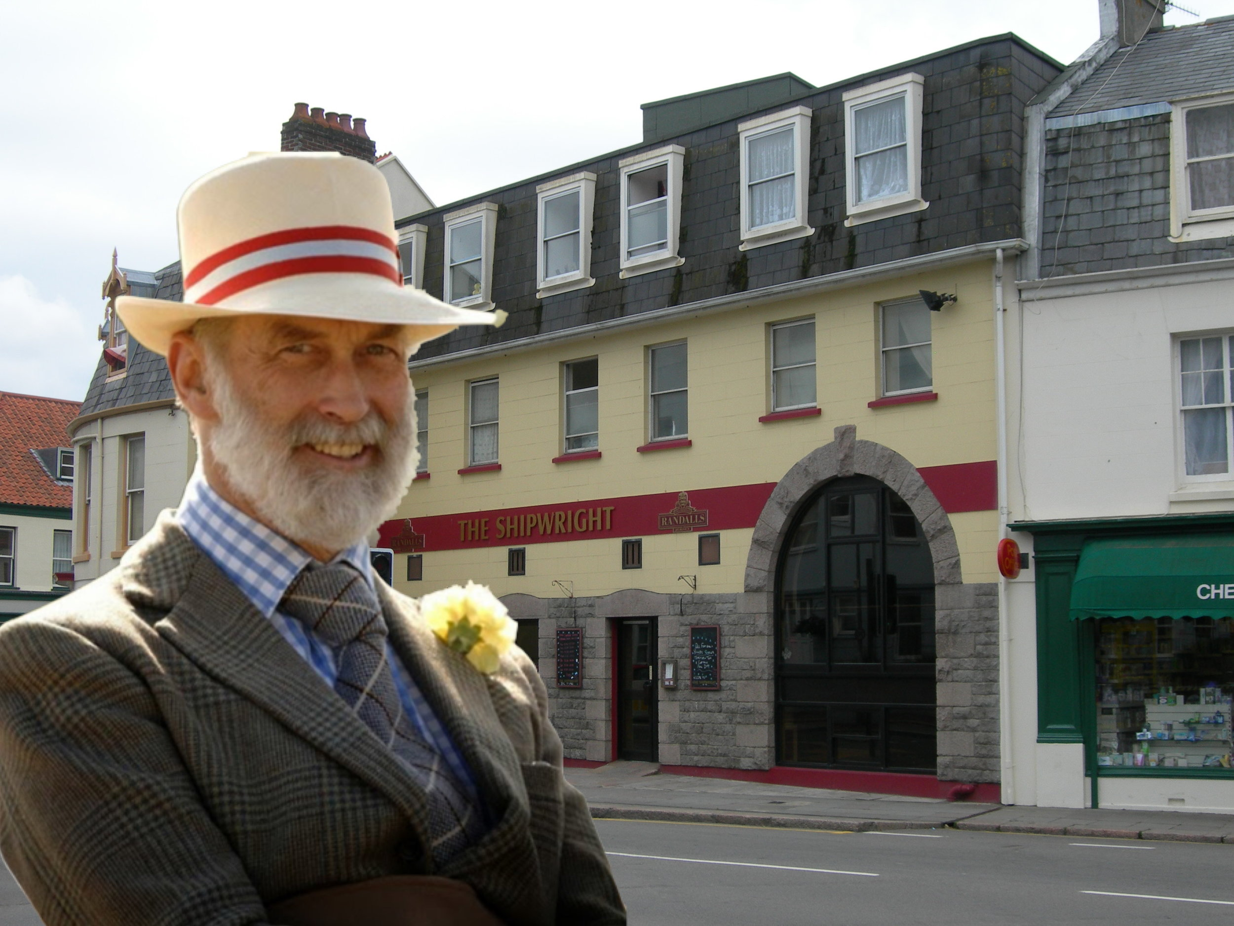 'Flagellate' laughed Mr Barking-Popham