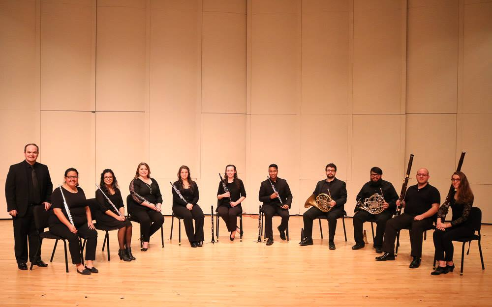 The ETCW at the 2nd annual Winter Concert at the SFASU School of Music (January 6, 2018).